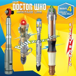 Doctor Who Heritage Line Sonic Screwdriver - Assortment