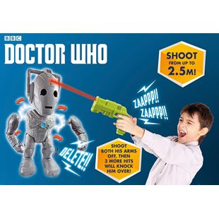 Doctor Who Interactive Cyber Man Attack and Infra-red Blaster
