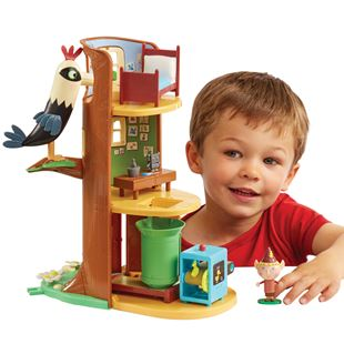 Ben & Holly's Elf Tree Playset