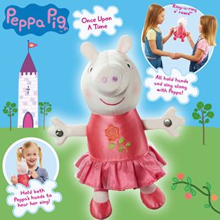 Peppa Pig Once Upon A Time: Princess Rose Peppa Plush Toy
