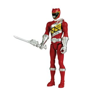 Power Rangers Dino Charge 30cm Red Ranger Figure