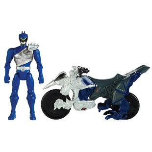 Power Rangers Dino Charge Cycle and Blue Figure