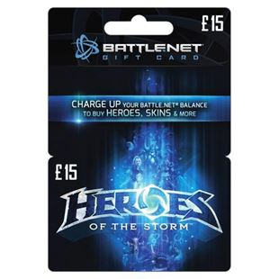 Heroes of the Storm Card £15