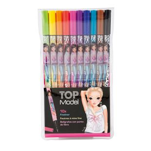 TOP Model Fineliner 10 Colours