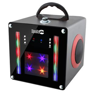 Rockjam Light Show Bluetooth Speaker Black