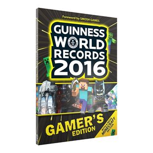 Guinness World Records Book Gamer's Edition 2016