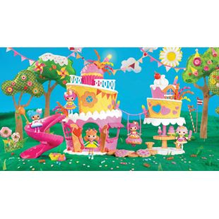 Mini Lalaloopsy Super Silly Party Musical Cake Playset