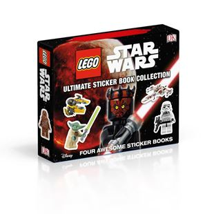 LEGO Star Wars The Ultimate Sticker Book Collection