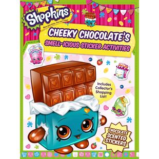 Shopkins Cheeky Chocolate's Smell-icious Sticker Activities Book