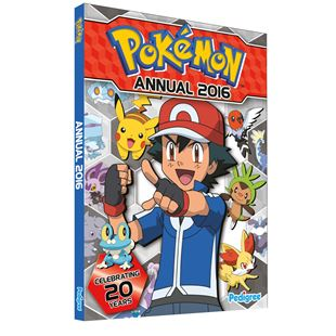 Pokemon Annual 2016
