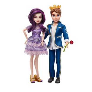 Disney Descendants 2 Pack Mal and Ben Dolls