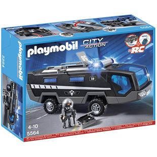 Playmobil City Action Tactical Unit Command Vehicle 5564