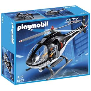Playmobil City Action Tactical Unit Helicopter 5563