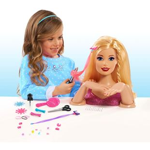 Barbie Colour, Cut and Curl Deluxe Styling Head