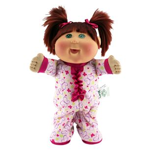 Cabbage Patch Kids Lil' Dancer Electronic Pajama Dance Party Red Haired Doll