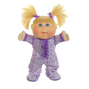 Cabbage Patch Kids Lil' Dancer Electronic Pajama Dance Party Blonde Haired Doll