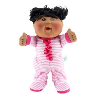 Cabbage Patch Kids Lil' Dancer Electronic Pajama Dance Party Black Haired Doll