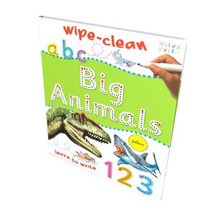 Wipe-Clean Big Animals Book