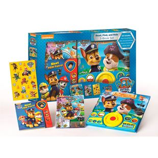 Paw Patrol Read, Find and Ride Box