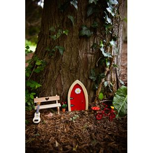 Irish Fairy Door Red Arched