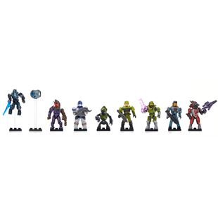 Mega Bloks Halo Micro Action Figures Bravo Series Blind Bag