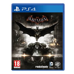 Preplayed Batman Arkham Knight PS4