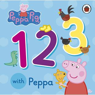 Count 1 2 3 with Peppa Pig Board Book