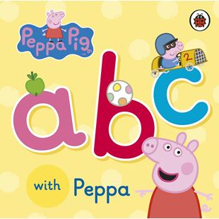 A B C with Peppa Pig Board Book