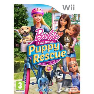 Barbie and Her Sister's Puppy Rescue Wii