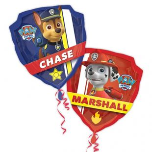 Super Shape  Paw Patrol  Foiled Balloon