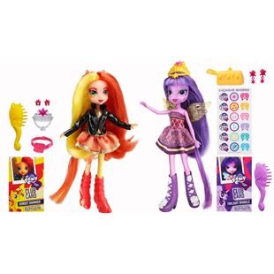 My Little Pony Equestria Girls Sunset Shimmer and Twilight Sparkle Dolls