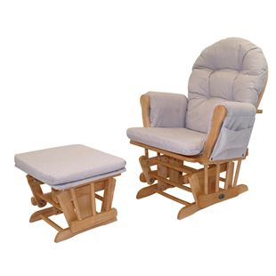 Babylo Glider Chair Honey Dew