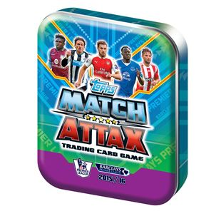 Topps Match Attax Trading Card  Game 2015/16 Collector Tin
