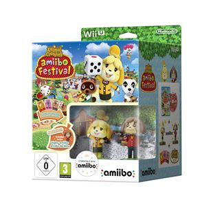Animal Crossing: amiibo Festival & 2 amiibo & 3 Cards Wii U