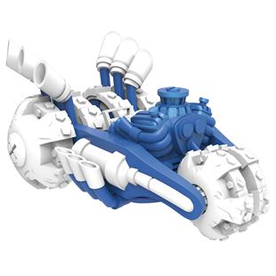 Power Blue Gold Rusher: Skylanders SuperChargers Vehicle
