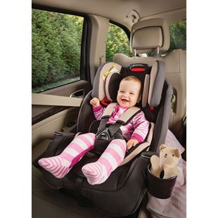 Graco Milestone All-In-One Car Seat Group 0-1-2-3 Aluminium