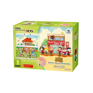 New Nintendo 3DS Console + Animal Crossing Happy Home Designer