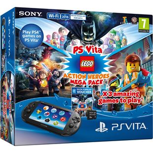PS Vita LEGO Action Heroes Pack