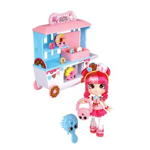Shopkins Shoppies Donatina's Donut Delights Playset Series 4