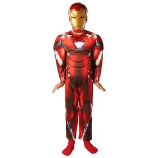 Marvel Civil War Deluxe Iron Man Costume- Medium
