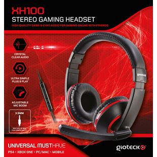 Gioteck XH 100 Universal Wired Headset