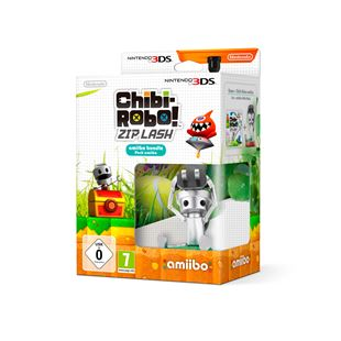 Chibi Robo 3DS with Chibi Robo amiibo