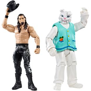 WWE Battle Pack Series 38 Adam Rose and Bunny Figures