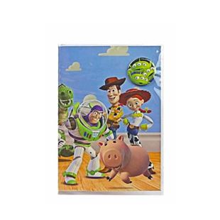 Toy Story Badge Greeting Card