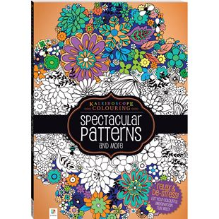 Kaleidoscope Colouring Book Spectacular Patterns and More
