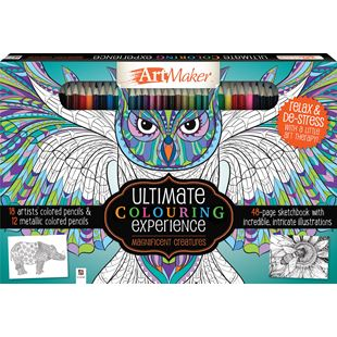 Ultimate Colouring Magnificent Creatures