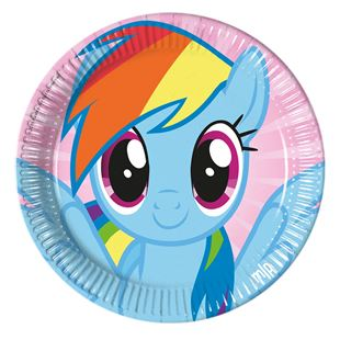 My Little Pony Plates (Pack of 8)