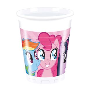 My Little Pony Cups (Pack of 8)