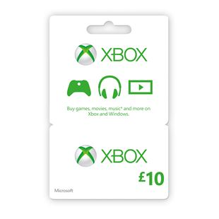 XBOX Live £10 Gold Card