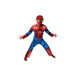 Ultimate Spiderman Costume Small Muscle Chest